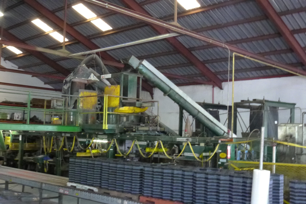 Tire Recycling Molding System